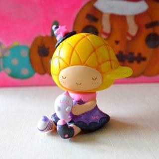 菠蘿油妹妹與幽靈小朋友- 手製樹脂公仔
