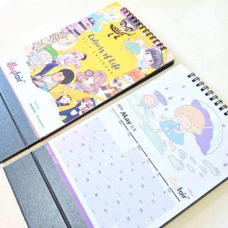 illusfair月曆聯合創作