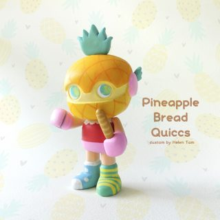 Pineapple Bread  x Quiccs quiccs x martian_toys (oneoff version)